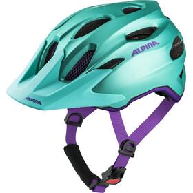 Alpina Carapax Helmet Juniors smaragd-violet
